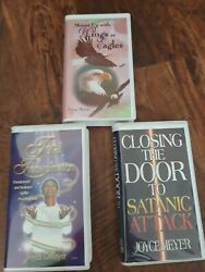 Joyce Meyer Total Transformation 6 Cassette Tapes Lot Of 3 Closing The Door, ..