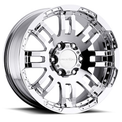 20x9 Vision Off-road 375 Warrior Chrome Wheels 5x5.5 18mm Set Of 4