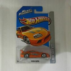 2013 Hot Wheels Fast And Furious Toyota Supra Hw City 5/250 Last One Left
