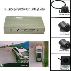 3d Large Perspective360° Panoramic 4 Camera Car Dvr Recording Parking Rear Video
