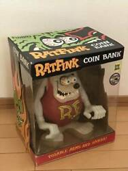 Rat Fink Piggy Coin Bank Plush Doll Figure Toy 480 Limited