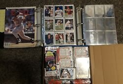 Vintage Baseball Cards From The 50s - 2000 Lot