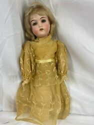 Antique Bisque Doll 3/0 Majestic Armand Marseille Germany