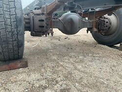 Rear Axle Assembly On A 2014 Freightliner M2106 Hydraulic Brakes
