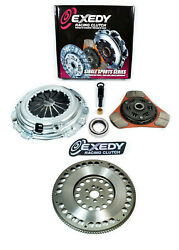 Exedy Stage 2 Clutch Kit + Fx Light Flywheel For 91-98 Nissan 240sx 2.4l Ka24de