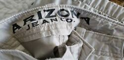 Mens Size 42 Pairs Of Shorts Distressed Cargo Arizona Jeans