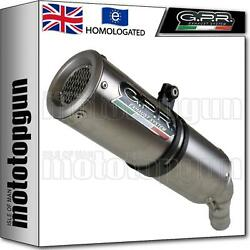 Gpr Exhaust Homologated + Link Pipe M3 Inox Ducati 748-s-sp-r-rs 1995 95 1996 96