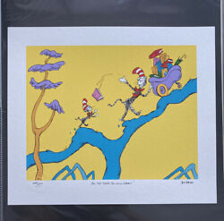 Dr. Seuss Andldquoohandrsquo The Stuff You Will Learnandrdquo Limited Edition Print 1659/2500