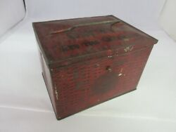 Vintage Advertising Patersonand039s Seal Lunch Box Tin Container 693-i