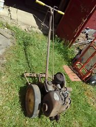 Planet Jr Tuffy Walk Behind Tractor W/ Cultivator Briggs And Stratton 5s Engine