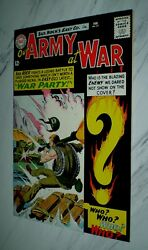 Our Army At War 151 Nm 9.4 Ow Pgs 1965 Dc Sgt. Rock - 1st Enemy Ace