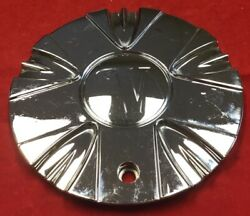 One Used Velocity Alloy Stw-195-1-cap Chrome Center Cap Aftermarket 7332