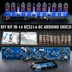 Diy Kit In-14 Arduino Shield Ncs314-8c Nixie Clock [tubes Columns Arduino ...]