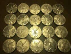 2012 Mexico Silver Libertad Roll Of 20 1 Oz Bu Coins. Very Low Mintage Plata