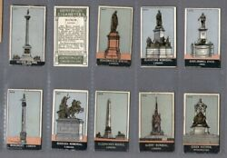 Tobacco Cards Set Cigarette Cards Statues And Monuments 1907 Punch-out Die-cut