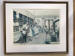 Pencil Signed Gary Macwilliams Print Titled Country Store Ii. Framed And Matted