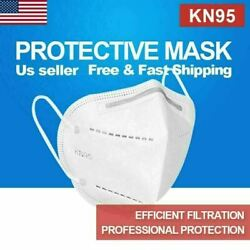 Kn95 5,000 Pc Protective Face Mask Respirator 4 Layer Covers Mouth And Nose Kn-95