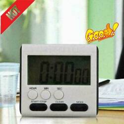 Magnetic Digital LCD Kitchen Cooking Large Timer Loud Clock Count Down Alar X5O2