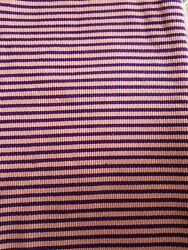 Faso Da Fani Fabric From Boukina Fasopeach With Purple Stripes 581ydand22andtimes15