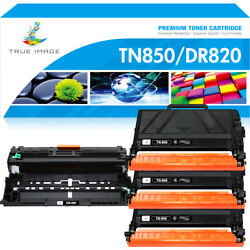 Dr820 Drum And Tn850 Toner Compatible For Brother Tn820 Hl-l6200dw Mfc-l5900dw Lot