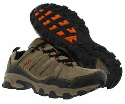 Fila MIDLAND Mens Brown Orange 241 Trail Hiking Sneaker Shoes $29.65