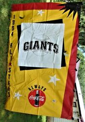 Mlb 1994 All-star Game At Pittsburgh Pirates Banner - Giants Edition