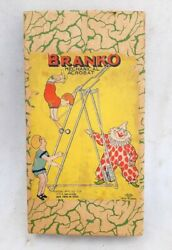 Vintage Old Celluloid Toy Branko Mechanical Acrobatic Toy Windup Toy Ck Tm Japan