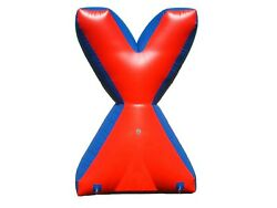 1 Piece Inflatable Air Bunker X For Paintball Airsoft Nerf Archery Laser Tag