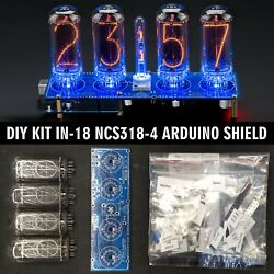 Diy Kit For In-18 Arduino Shield Ncs318-4 [tubes Column Arduino Accessories]