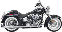Bassani Manufacturing - 1s66e-30 - True Duals With 30in. Fishtail Muffler With B