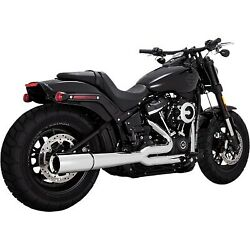 Vance And Hines - 17587 - Pro Pipe Harley-davidson Softail Deluxe Fldesoftail Fat
