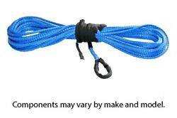 Kfi 1/4 Synthetic 50' Atv Winch Cable Blue For 4-5000 Lb Winches