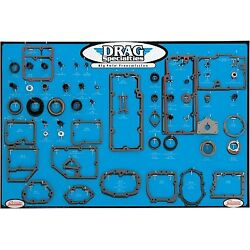 Drag Specialties - 0934-0287 - Gasket Seal And O-ring Display For Big Twin 5-sp