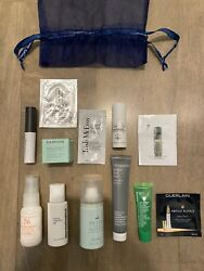 Blue Mercury SAMPLE BAG Deluxe Travel For Skin amp; Hair La Mer Dry Bar Darphin $15.99