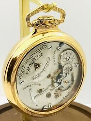SERVICED Rarest Watch in my Collection Columbus King 23J Pocket Watch Salesman