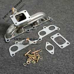 T3 Flange Turbo Exhaust Manifold For Toyota 4runner Tacoma 2.7l 2rz-fe 3rz-fe