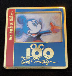 Disney Dlr One Hundred 100 Mickeys Eric Robison Series Mm 021 Over There Pin