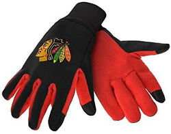 Chicago Blackhawks Texting Gloves New One Size Fits Most Foco