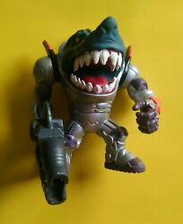 Street Sharks Action Figure Space Force Powerarm Ripster Vintage Rare