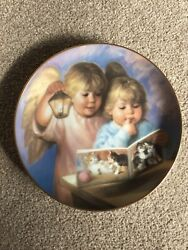 Heavenly Light By Mago Heavenly Angels Collectable Plate