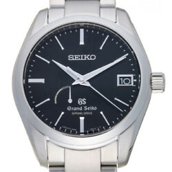 Free Shipping Pre-owned Grand Seiko Spring Drive Watch Sbga085 9r65-0bh0