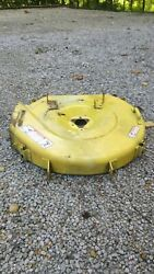 John Deere 130 Lawn Mower Deck Shell Local Pickup Only Until I Find A Box