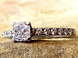 Kiss And Tell Valuation 5330 18k White Gold Diamond Ring 0.95cts