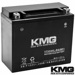 Ytx24hl-bs Agm Battery 12v For Yamaha 700 Vx700dx Vmax 700 Deluxe 1999-2000