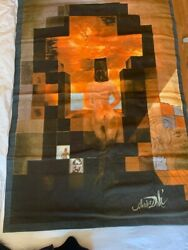 Original Tapestry Salvador Dali 85 From 1976 Limited Addition