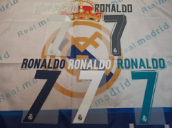 2014-18 Real Madrid Ronaldo Sporting Id Official Remake Name Sets