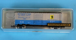 Model Power 3701 N Scale Baltimore And Ohio Bando Sentinel Boxcar 46008 New In Box
