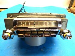 1956 57 Ford Mercury Town And Country Radio 7abh-532866