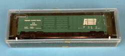 Aurora Postage Stamp Trains 4868 N Scale Penn Central Double Door Boxcar In Box