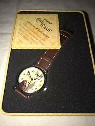 50th Anniversary Lady And The Tramp Watch New In Box